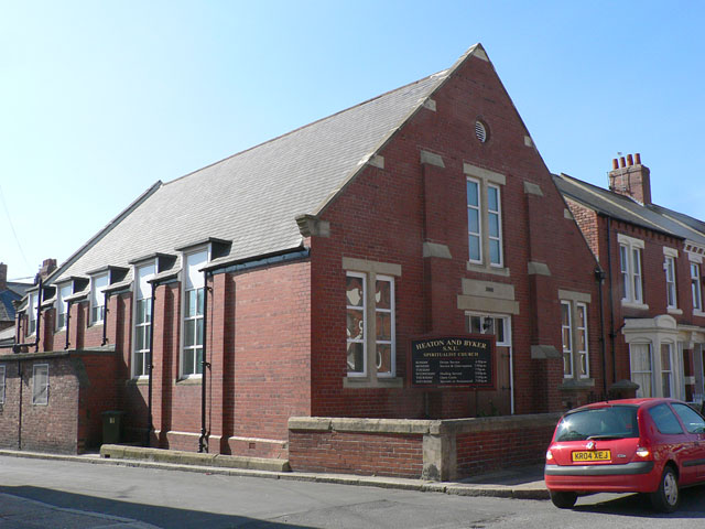 The Heaton and Byker Spiritualist Church