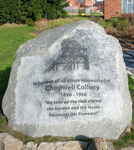 Chopwell Colliery Tribute