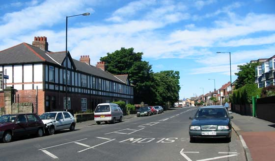 The west end of Elswick Road