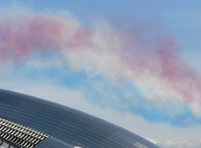 Another failed attempt at photographing the Red Arrows
