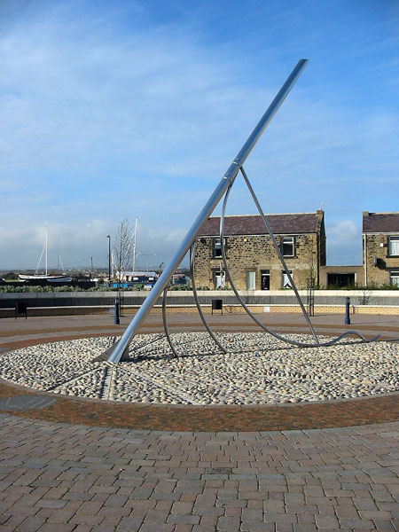 The Sundial at Amble