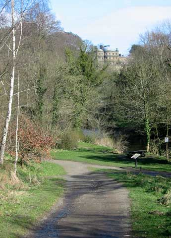 Hartford Hall and River Blyth